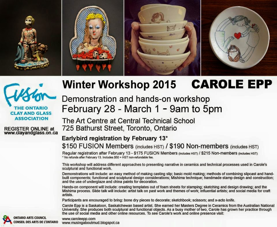 Join me at my next workshop!
