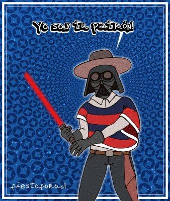 Darth Vader patrón de fundo