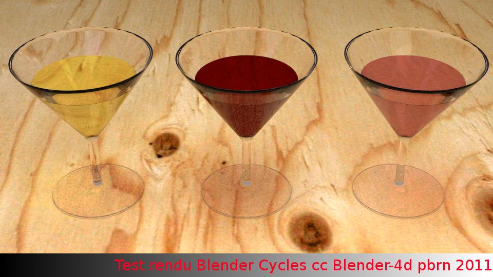 Blender 4d test comparatif entre blender cycles et luxrender dans blender - Difference entre blender et mixeur ...