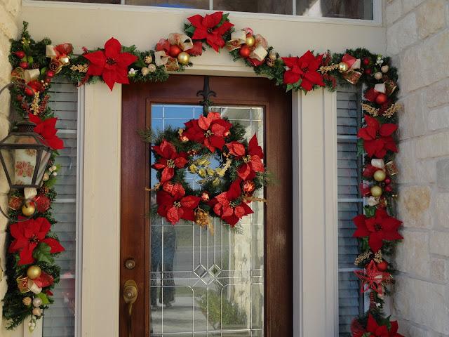 Christmas Front Door Cover