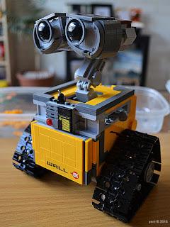 lego wall-e: armless