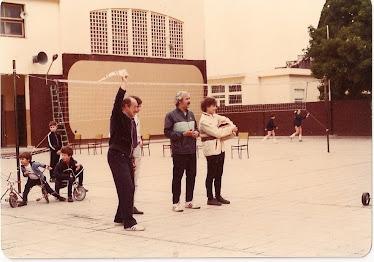 DEPARTAMENTO DE EDUCACIÓN FÍSICA DECADA DE 1980