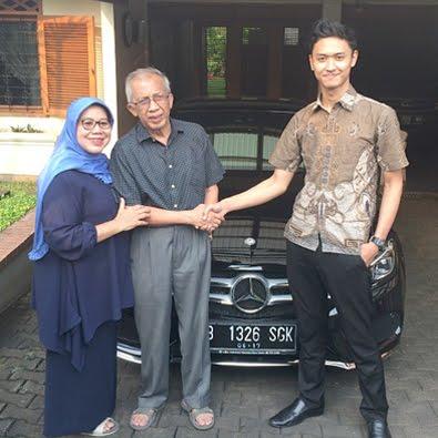 Delivery C 250 AMG a/n Ibu Aisyah
