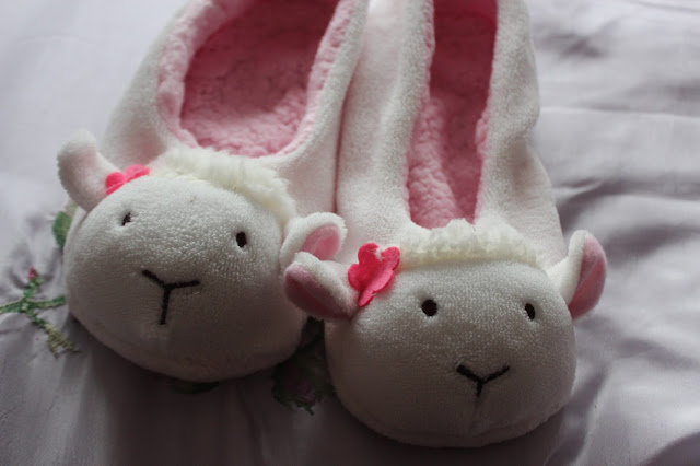primark lamb slippers
