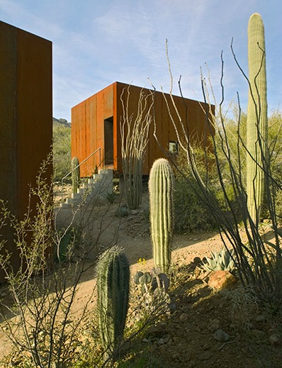 Fuentes: Desert Nomad House, Crosby Doe Properties