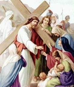 Jesús habla a las mujeres de Jerusalén