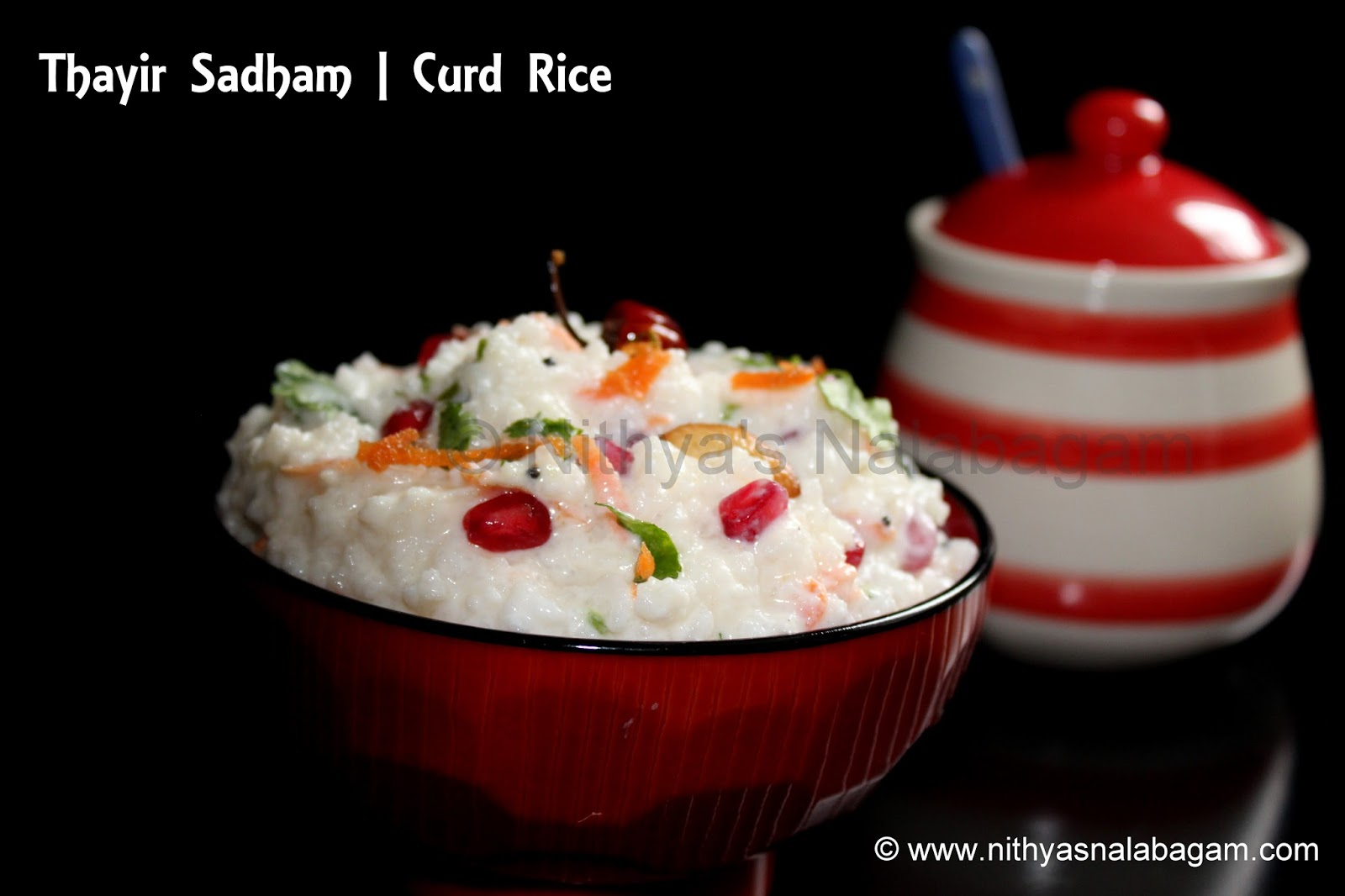 how to prepare curd rice