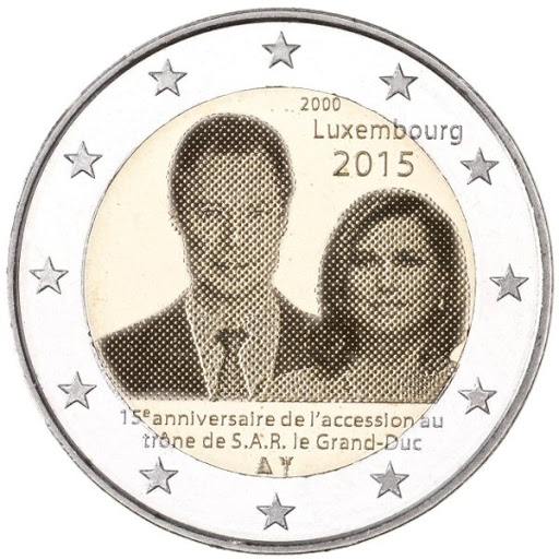 2 euro Luxembourg 2015