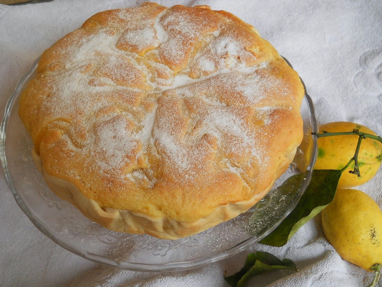 crostata al limone per festeggiare la primavera