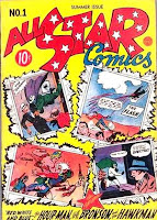All Star Comics #1 comic book cover