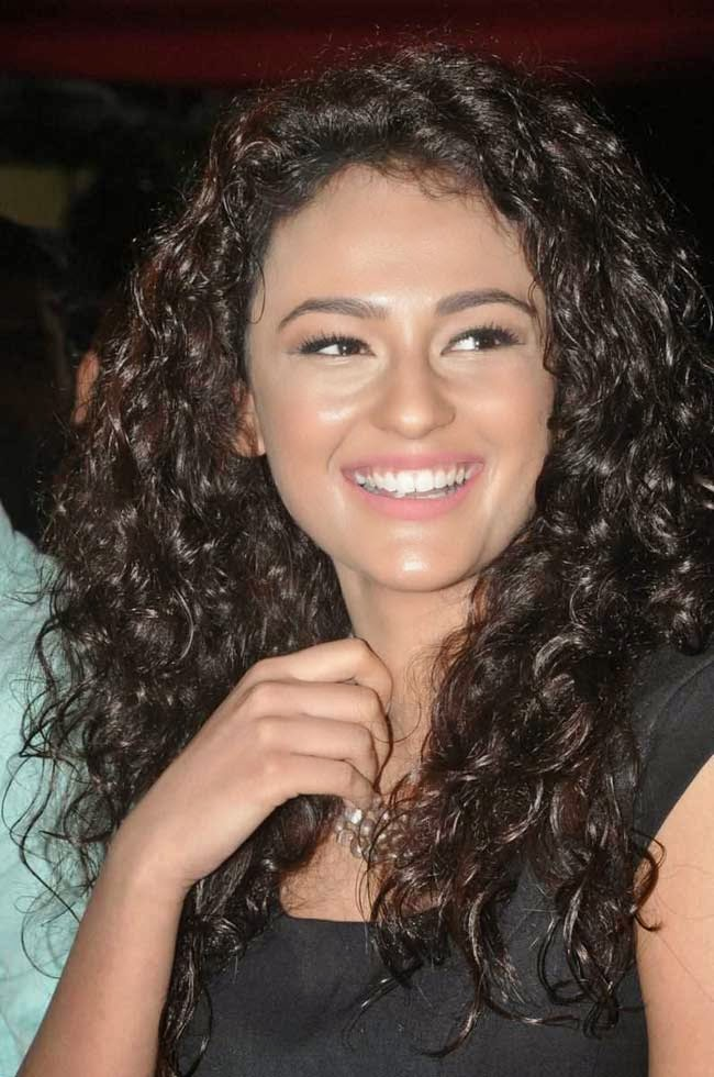 Seerat Kapoor In Black Dress