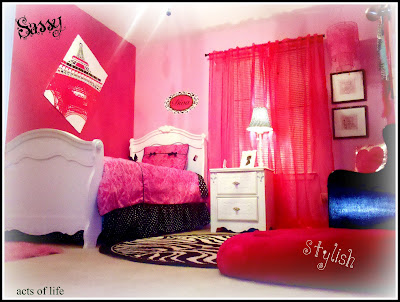 Hot Pink Bedroom My Daughters Bedroom Project