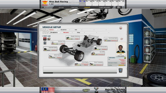 Racing Manager 2014 Screenshots 1