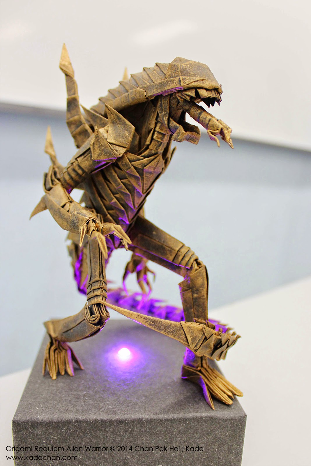 Kade chan origami blog origami requiem alien kade chan origami blog origami requiem alien warrior jeuxipadfo Images