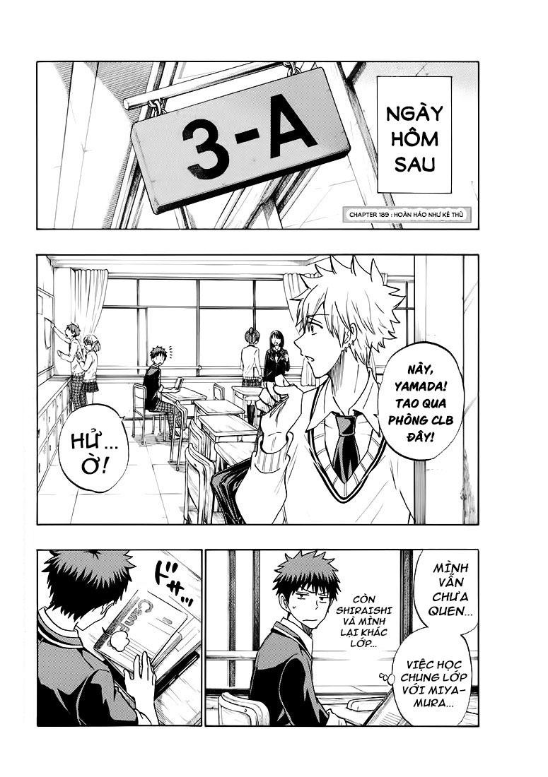 Yamada-kun to 7-nin no majo chap 189 Trang 5 - Mangak.info