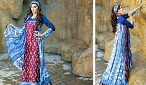 Subhata Embroidery Collection 2015