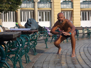At Szechenyi Thermal baths in Budapest