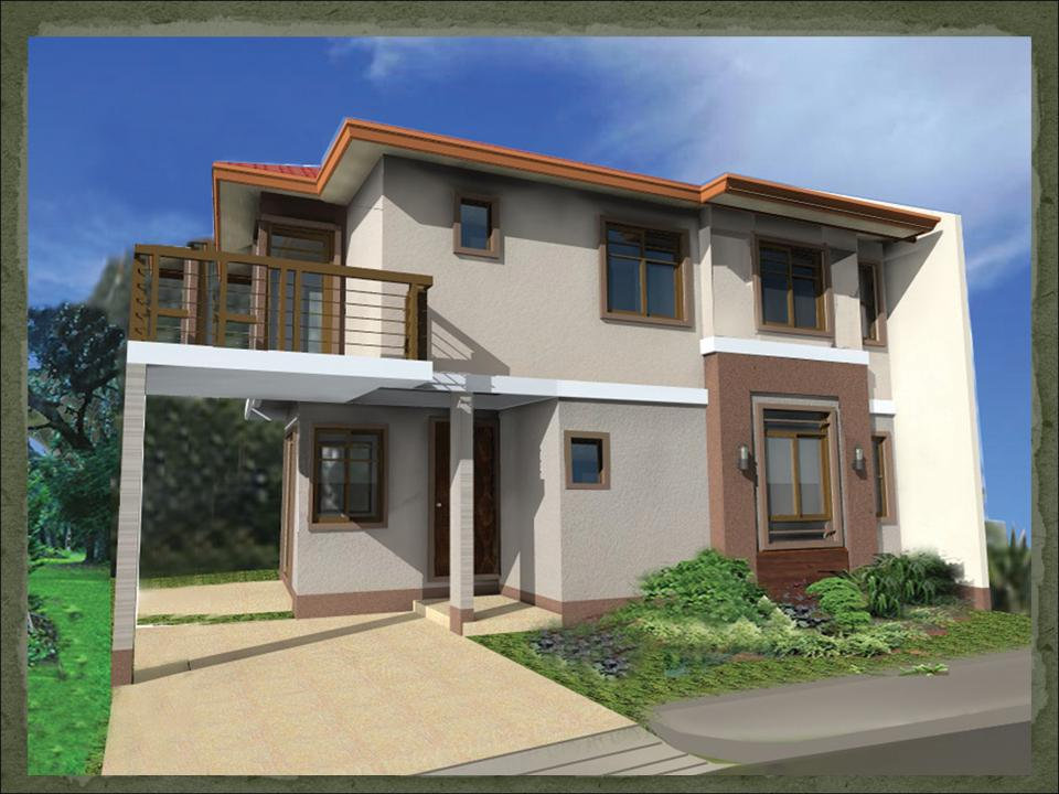 Two-Storey House Designs Philippines