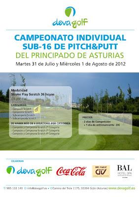 Campeonato Asturias Sub 16 Pitch & Putt en Deva Golf