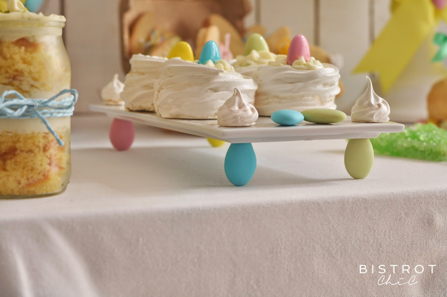 Easter Party cake stand by BistrotChic