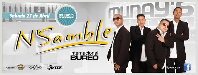 N Samble en Arequipa (27 abril)