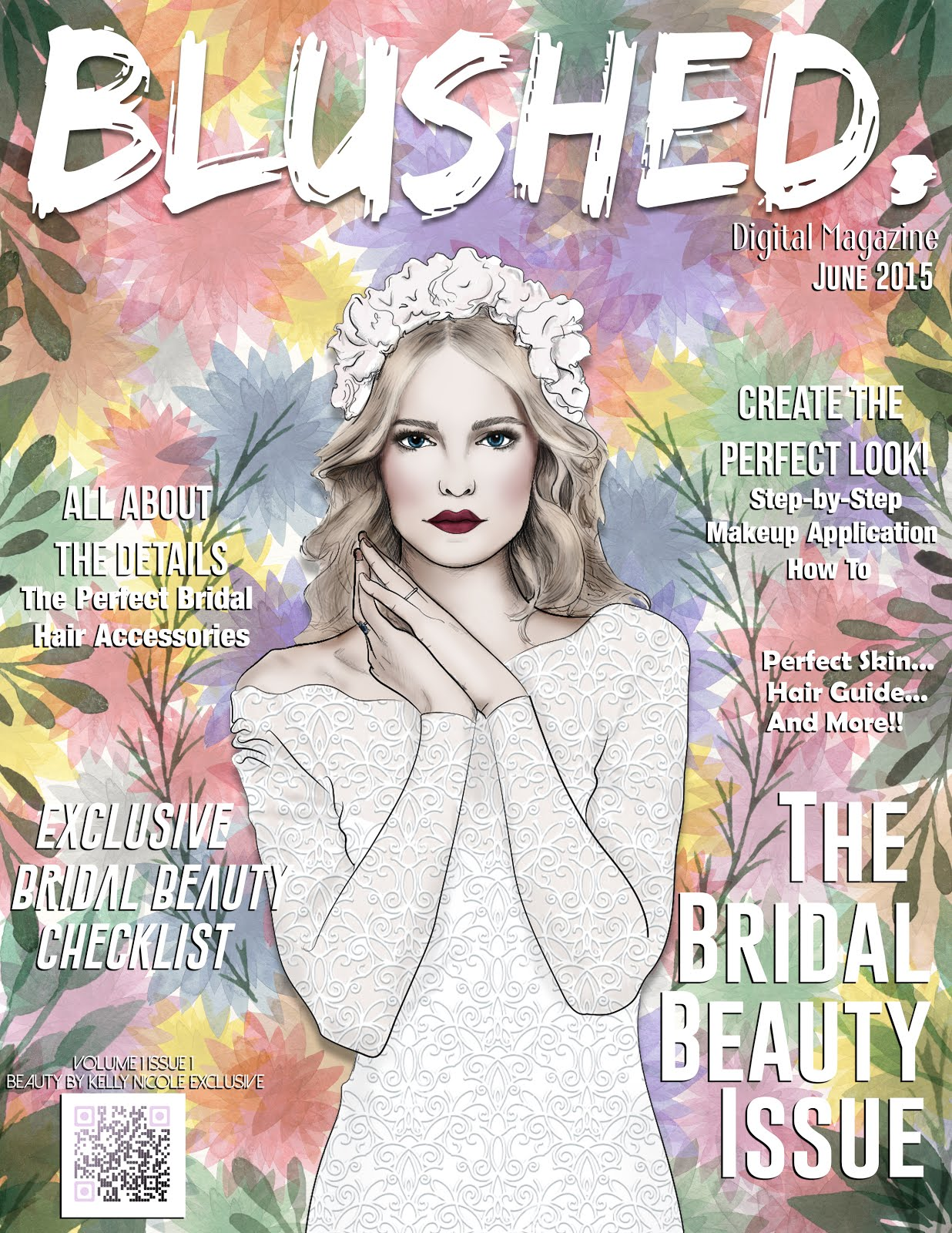 Become an Insider to receive the first issue of Blushed Digital Magazine Free!