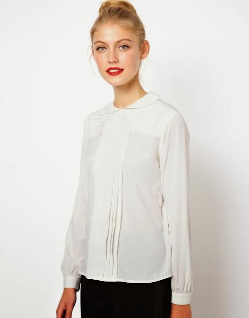 peter pan collar blouse