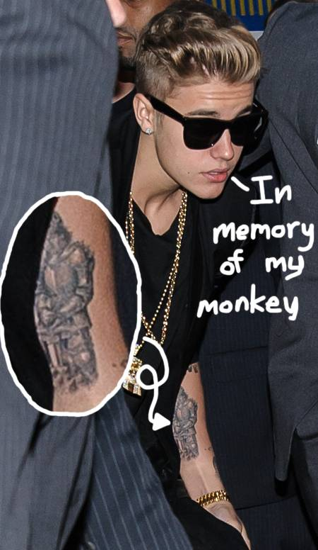 Chatter busy justin bieber new tattoo of a knight on his arm for Pictures of justin bieber tattoos