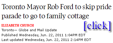 that sound you hear s rob ford's balls clanking