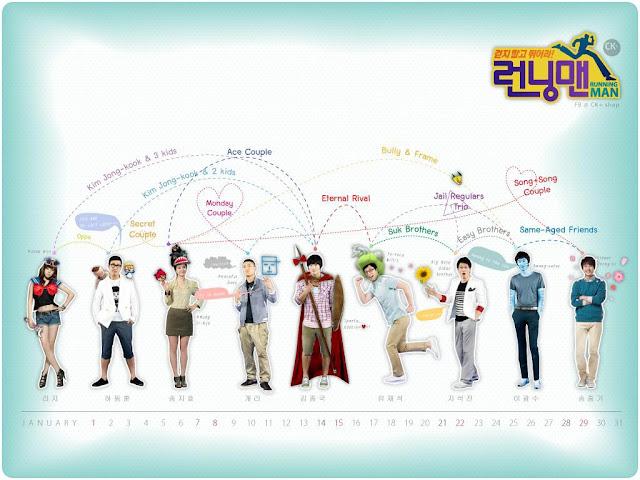 Running Man Variety Show Korea