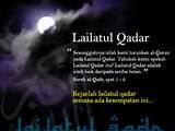 Pengertian Lailatul Qadr - Malam Lailatul Qodar Penuh Kekuatan