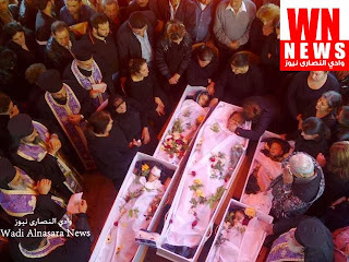 H κηδεία του πατέρα και των 4 παιδιών σ_ελληνορθόδοξη εκκλησία στην Κοιλάδα των χριστιανών