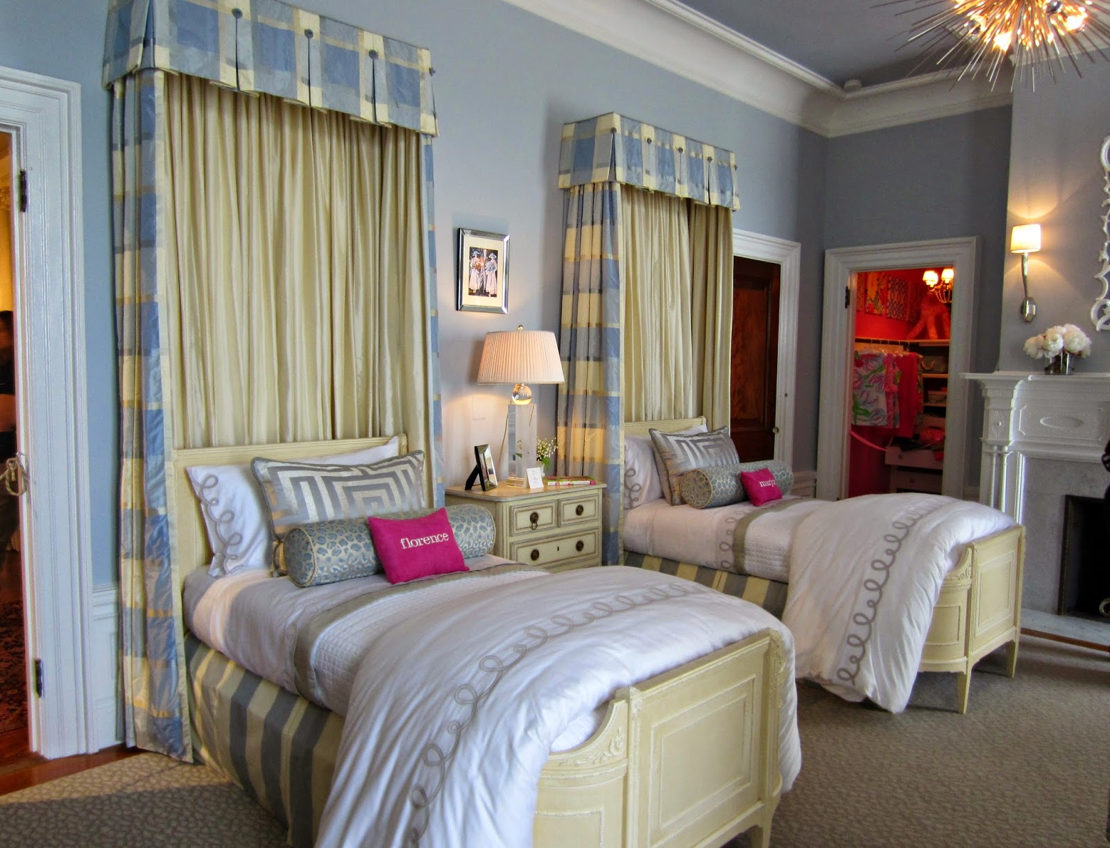Calypso in the country a dream bedroom for girls - Bed for girls room ...