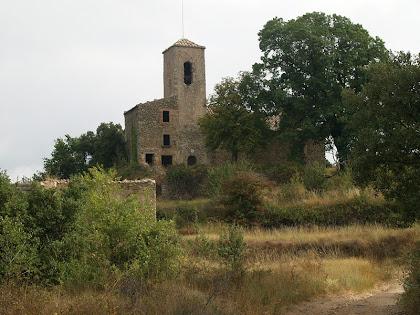 L'església de Sant Julià d'Úixols del terme de Castellterçol