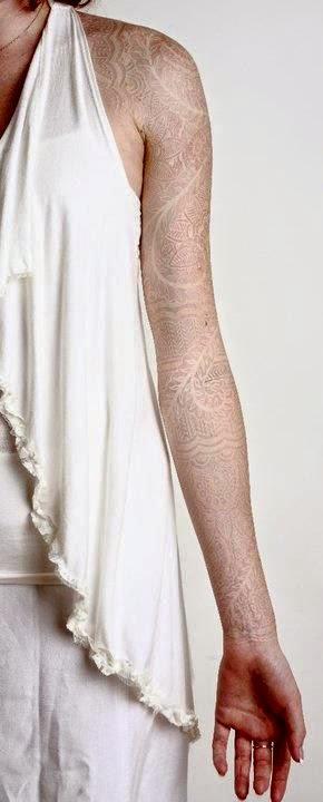 White Tattoo Ink