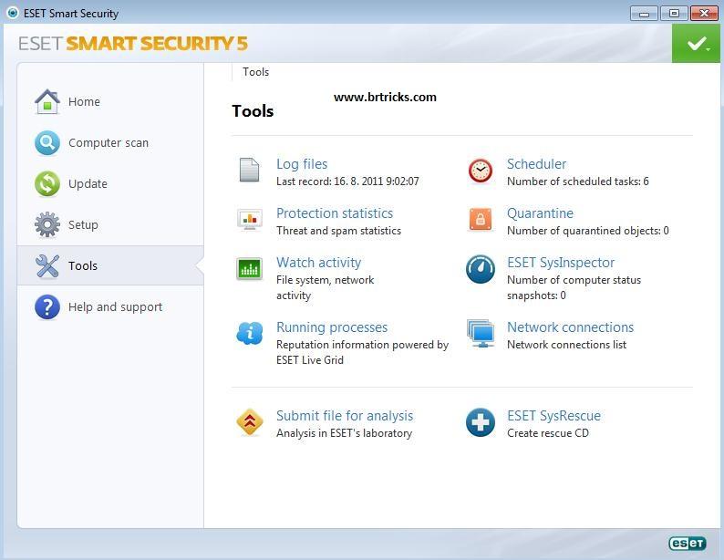 Eset Smart Security Keys 2012