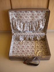 vintage Hartmann suitcase...SOLD