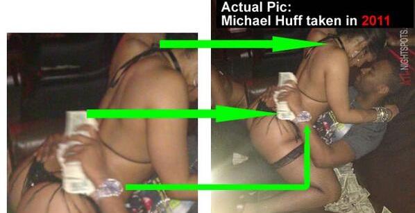 Peter Okoye's Pic Of Him Spraying Dollars In A Strip Club Was Fake
