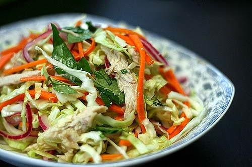 Vietnamese Salad Recipes - Gỏi gà bắp cải