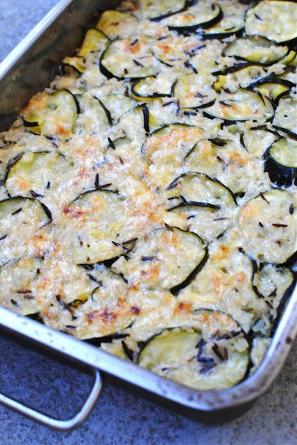 recept, zucchini, gratäng, jamie oliver