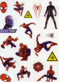 Stickers for McDonald's The Amazing Spider-Man 3 #8: Activity Book
