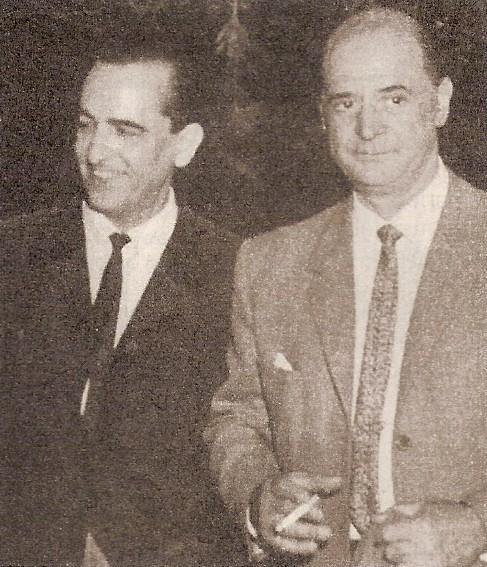 Hugo del Carril y Luis Sandrini