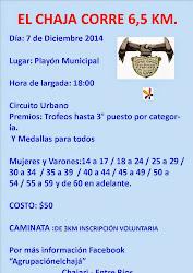 2º EDICION EL CHAJA CORRE ( CHAJARI E.R.)