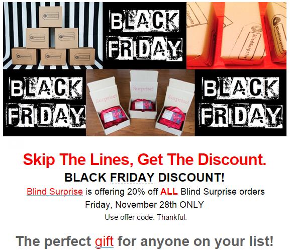 blind surprise black friday deal