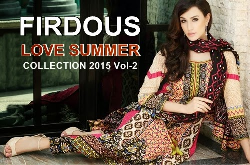 Firdous Lawn Collection 2015 Vol-2