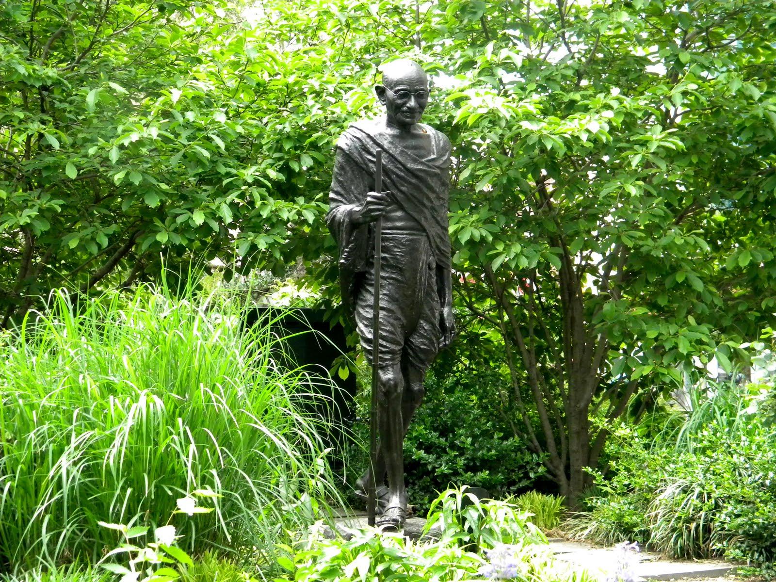 Mohandas Gandhi Statue Union Square Park