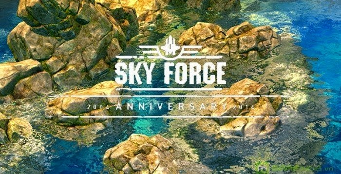 Sky Force 2014 1.20 MOD Full APK + DATA For Android