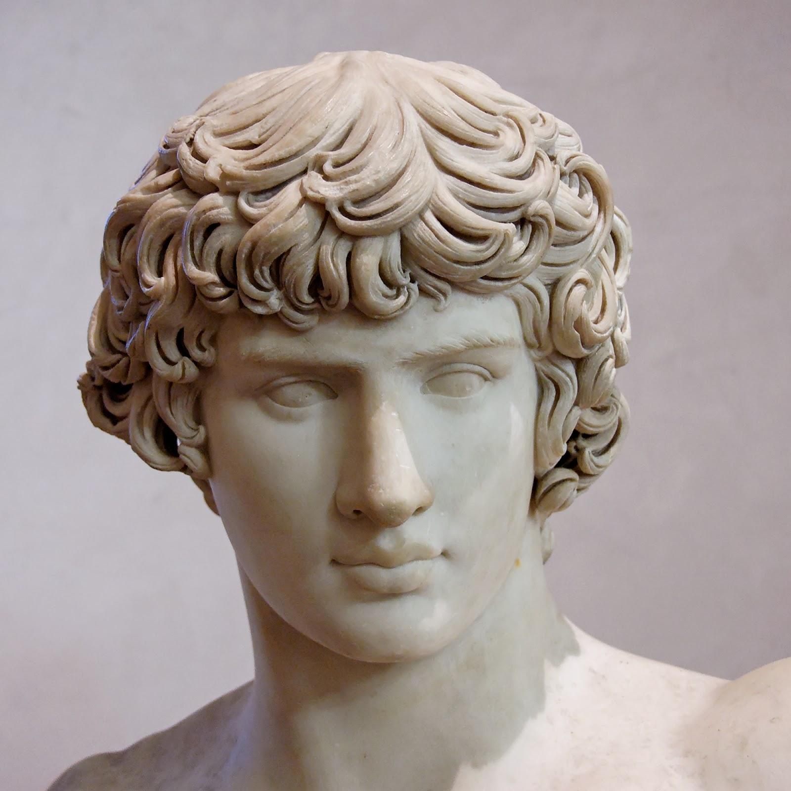 La toge et le glaive antino s le bel amant d 39 hadrien - Histoire de la sculpture ...
