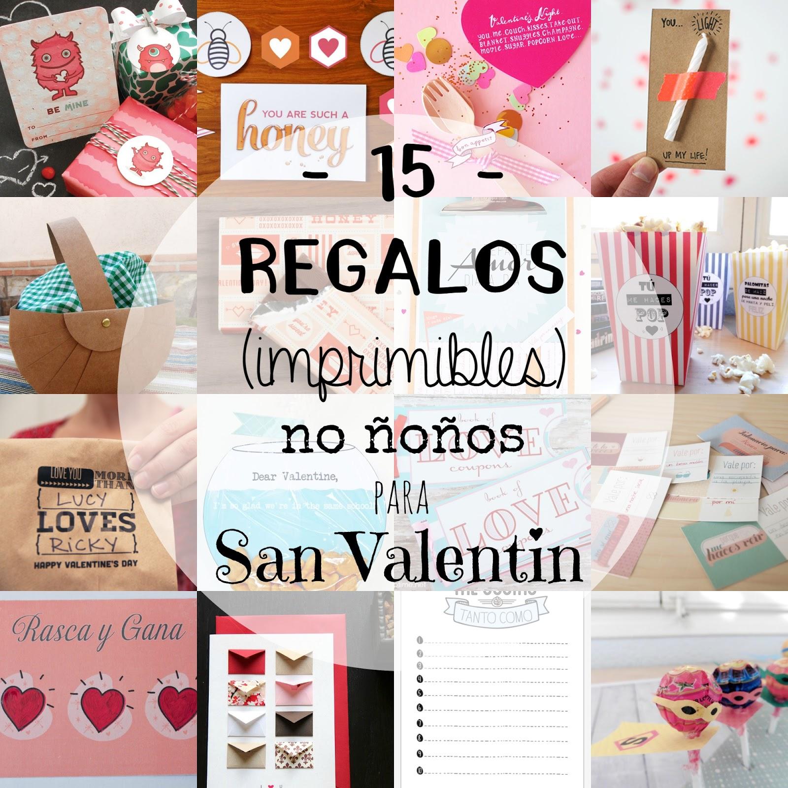 Recetas f ciles manualidades y diy 15 regalos - Ideas para regalo de san valentin ...
