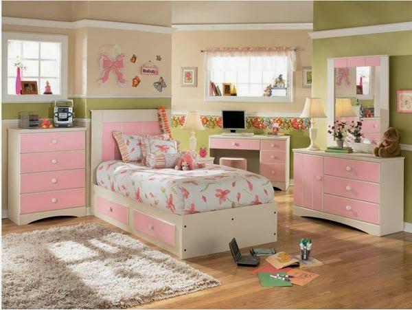 desain kamar tidur cantik anak perempuan 2017 rumah. Black Bedroom Furniture Sets. Home Design Ideas